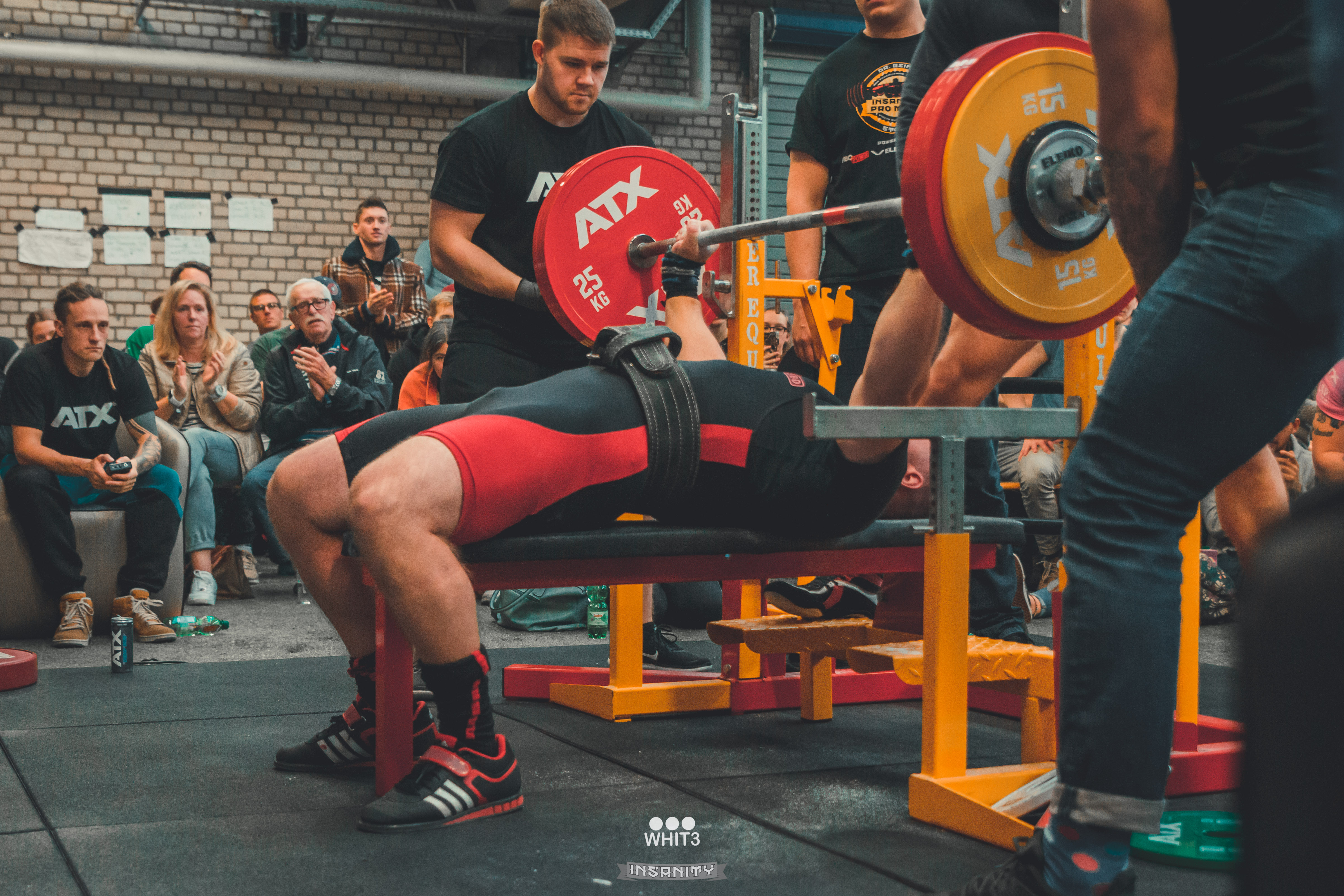News Insanity Meet Raw Powerlifting